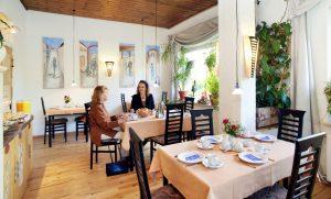 dieses Foto zeigt den Frühstücksraum des Hotel Kottenforst